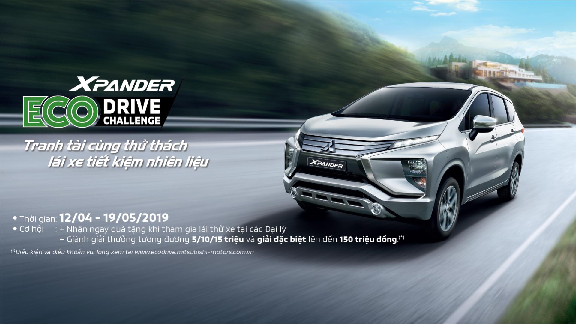 Thử thách lái xe tiết kiệm nhiên liệu – Eco Drive Challenge cùng Mitsubishi Xpander