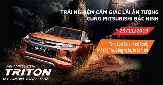Trải nghiệm cảm giác lái cùng Mitsubishi Bắc Ninh tại Từ Sơn
