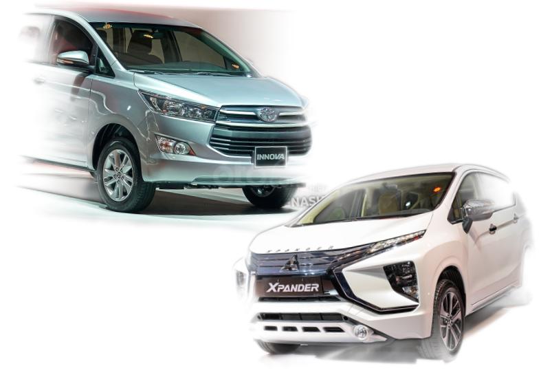 So sánh Mitsubishi Xpander và Toyota Innova 2020