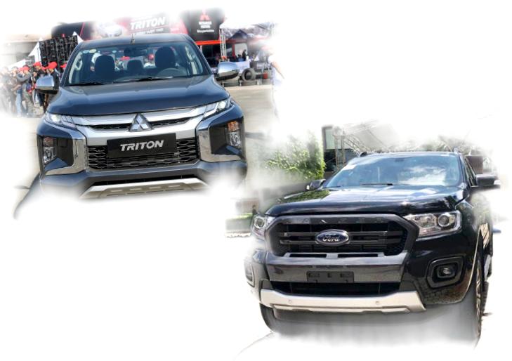 So sánh Mitsubishi Triton và Ford Ranger 2020